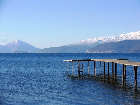 lake prespa,macedonia