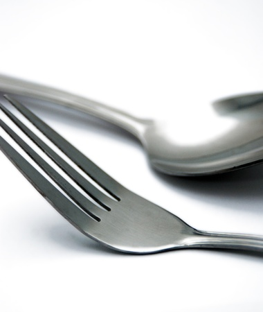 fork and spoon Stock Photo - 12888732