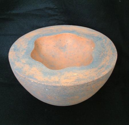 Ceramic bowl  on black