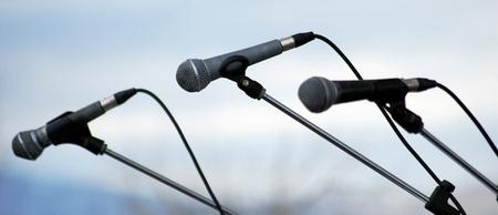 amplification: trois microphones