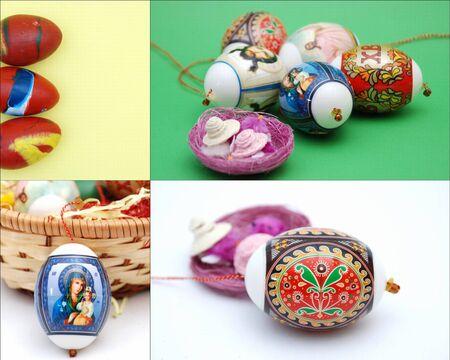 ortodox: easter eggs,ortodox, collage