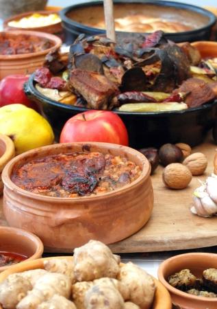 traditionelle mazedonische Lebensmittel