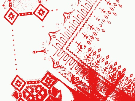 Macedonian embroidery