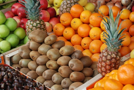 fruits in market photo
