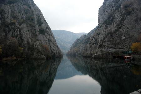 Matka Canyon, Skopje, Mazedonien