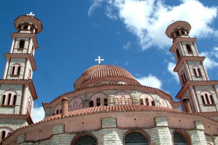 ortodox Kirche in korcha, Albanien