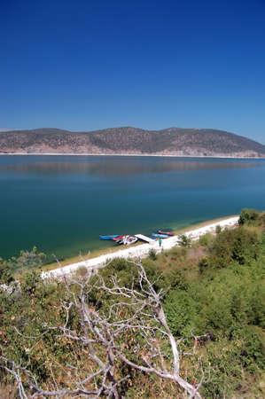 lake prespa,macedonia photo