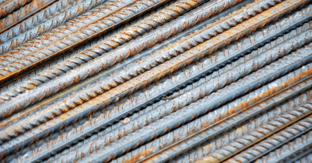 Steel rods,texture Stock Photo - 13683819