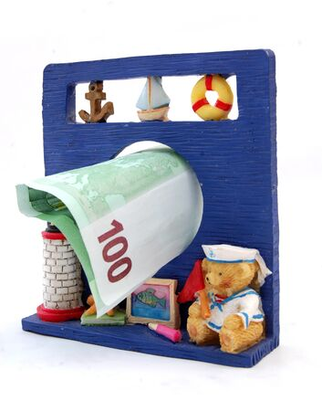 holyday: prepare money for summer holyday