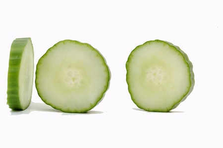 slice of cucumbers photo
