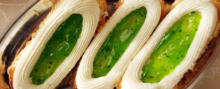 kiwi ,Tasty cakes Stock fotó