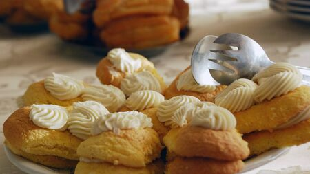 Tasty cakes Stock fotó