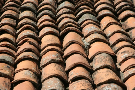 turkish  roof tiles photo
