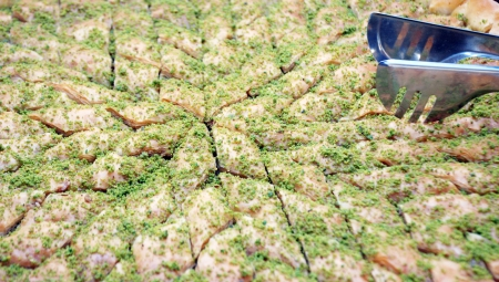 baklava, turkish dessert photo
