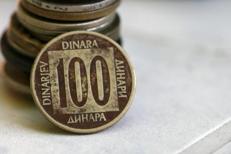 old coins, yugoslavia Stock Photo - 15033379