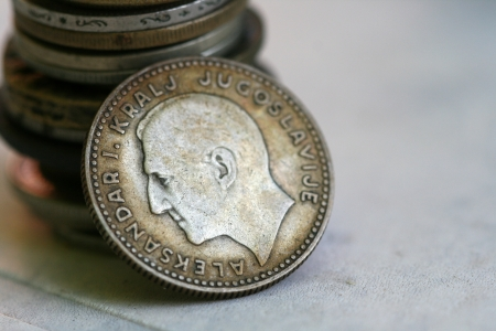 old coins Stock Photo - 15033382