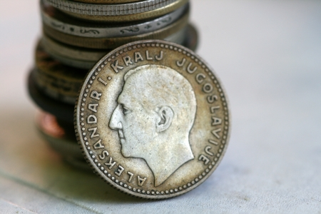 old coins Stock Photo - 15033384