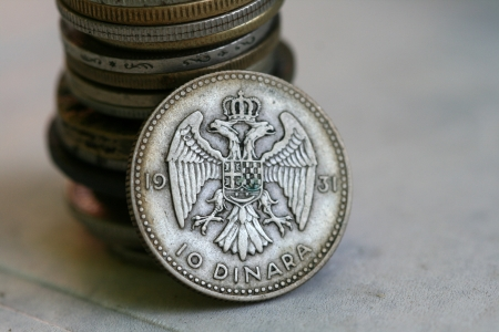 old coins Stock Photo - 15033392