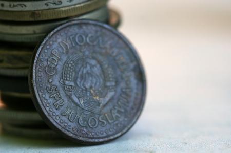 old coins: old coins,yugoslavia
