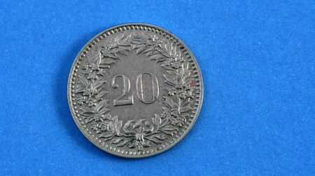 numismatic: moneta svizzera 1925