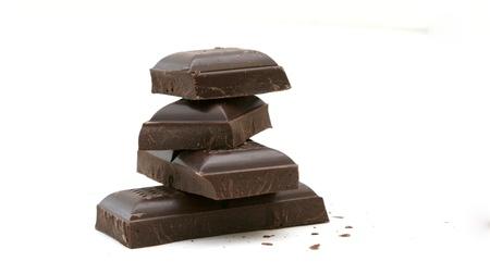 Chopped black chocolate