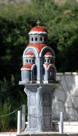 ortodox: small ortodox church in macedonia