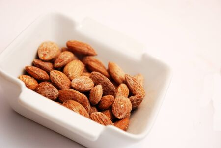 roasted almonds, nuts photo