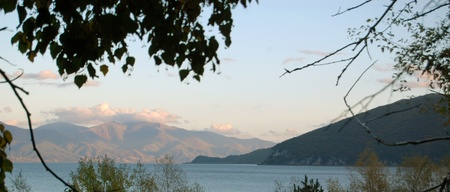 lake prespa , macedonia Stock Photo - 16171134