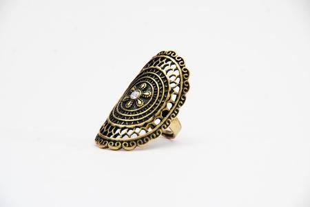 necklase: ring Stock Photo