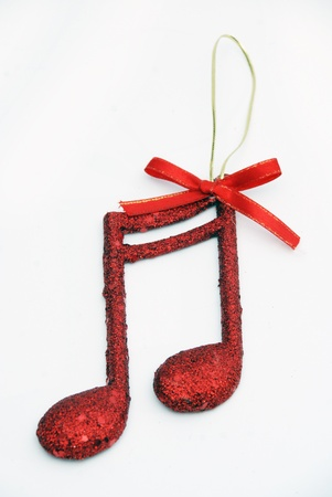 lux: new year music note,Christmass background Stock Photo