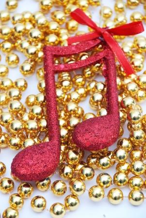 music note,Christmass background photo