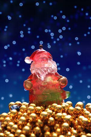 rich santa claus photo