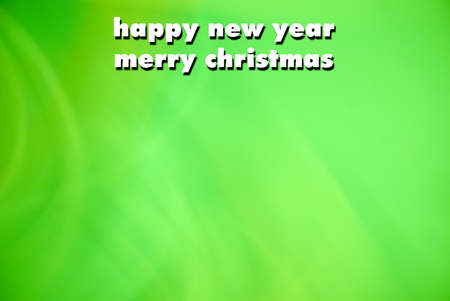 Happy New Year an Christmas greeting card photo