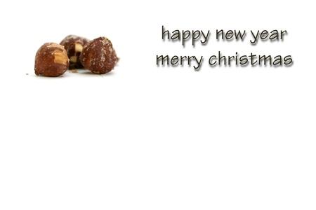 xmas greeting card Stock Photo - 16517429