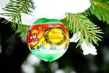 christmass: Christmass background, balls