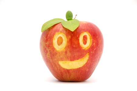 happy apple photo