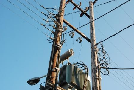 Electric transformator Stock Photo - 17448317