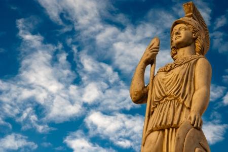 Goddess Athena, statue