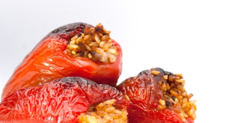 dolma stuffed peppers Stock Photo - 17752602