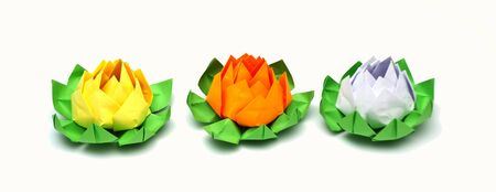origami lotus Stock Photo - 18177603