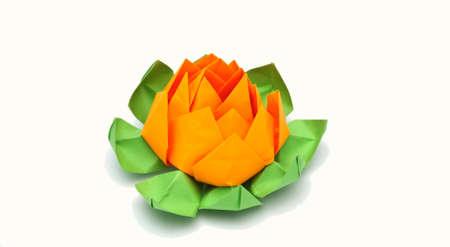 origami lotus Stock Photo - 18177600