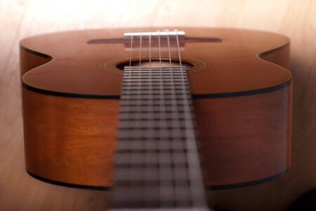 Acoustic Guitar,Details photo