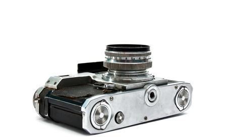 Obsolete russian photo camera