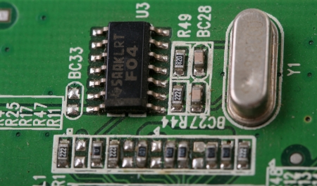 usb2: electronic boards Stock Photo