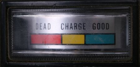 battery charger: battery charger indicator