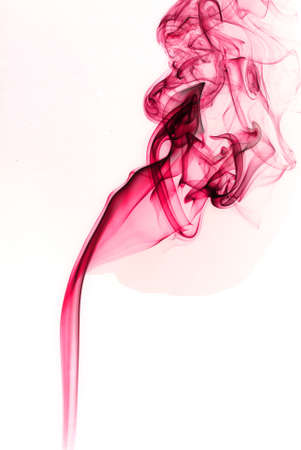pink smoke art photo