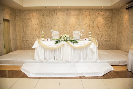 Main table,bride and groom