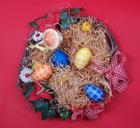 Easter Eggs Decoration photo