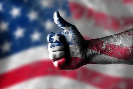 eu flag: thumbs up
