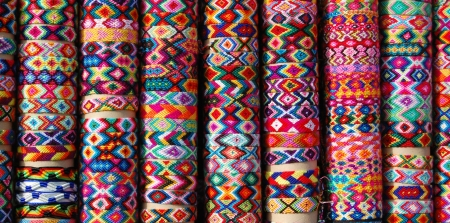 artisanry: latin america colors Stock Photo